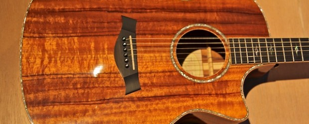 Taylor K24-CE, 2007. This is made of KOA. It looks astounding. It sounds quite good too. This guitar is a Taylor 2007 Koa Series 24 CE A,nnounced at NAMM summer...